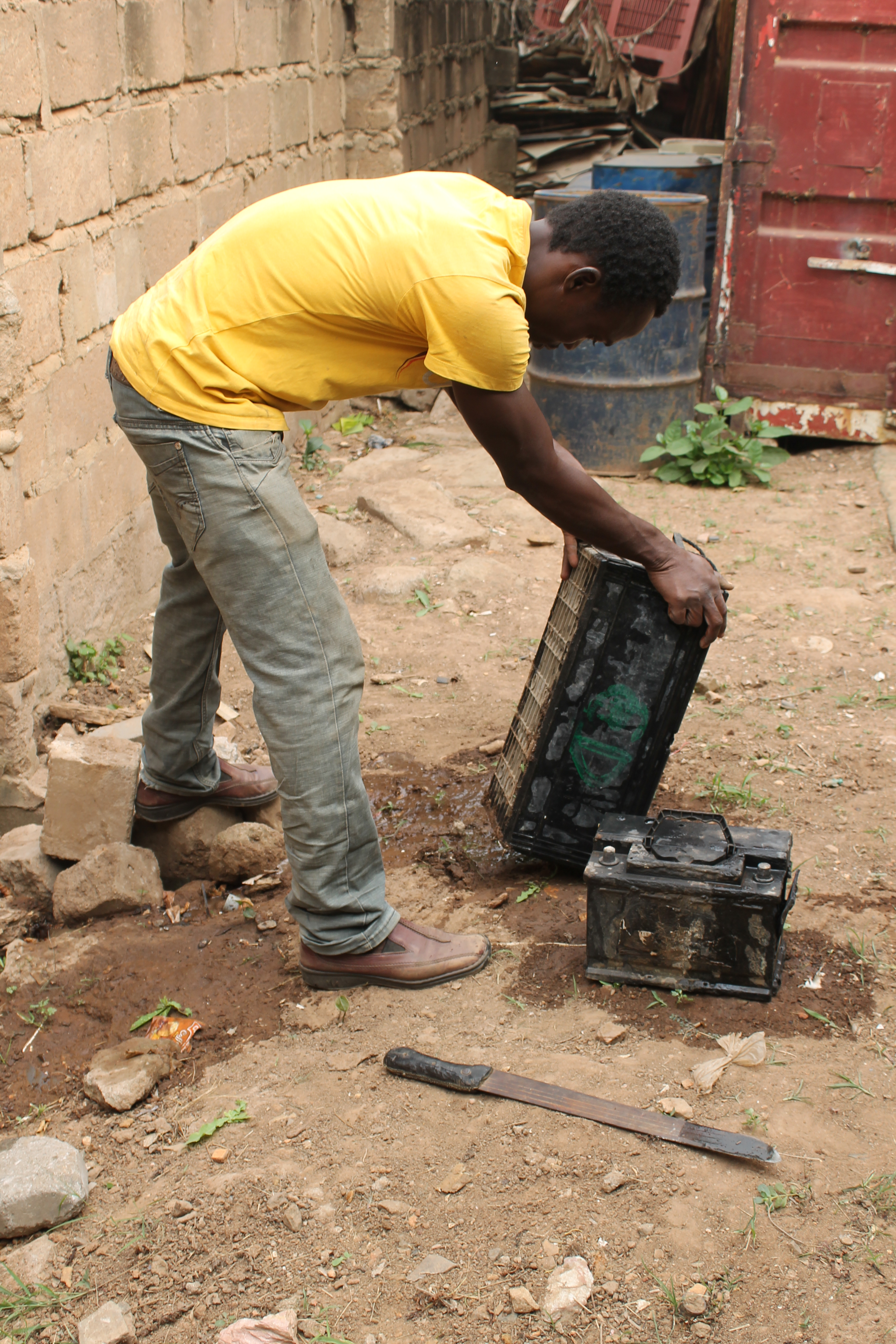 Africa's Challenge with Used Lead Acid Batteries (ULAB